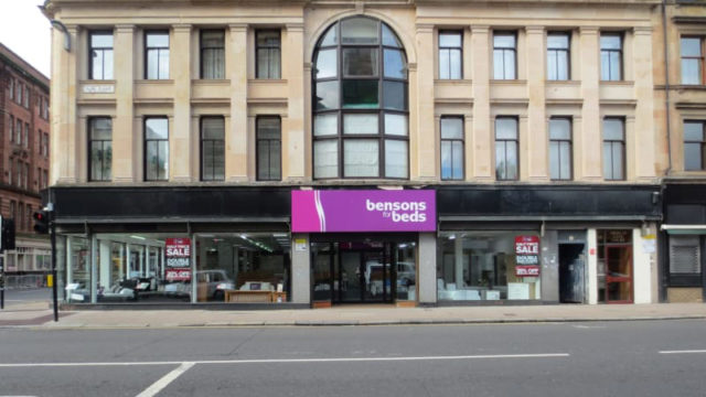 Bensons for Beds Glasgow High Street