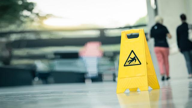 Anti slip floor treatments