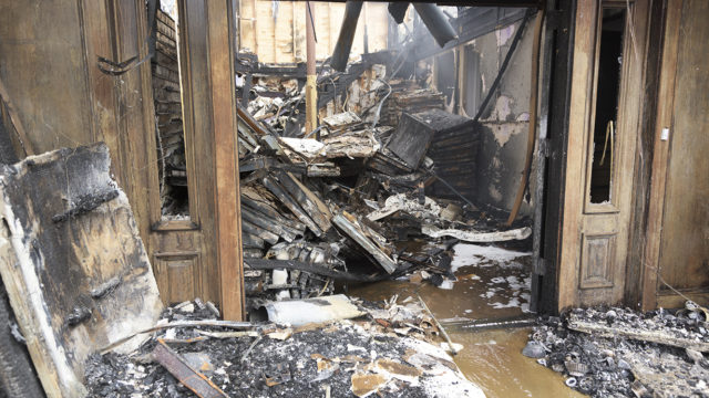 Fire and Smoke Damage Cleaning