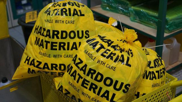 Hazardous Waste Collection Service