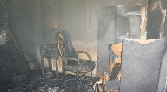 Smoke & Soot Damage Cleaning
