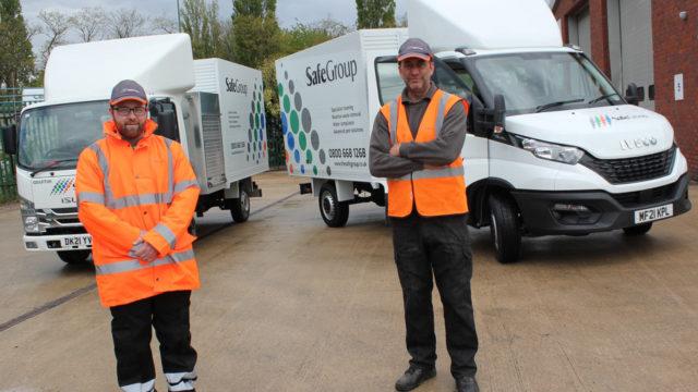 SafeGroups new hybrid vehicles